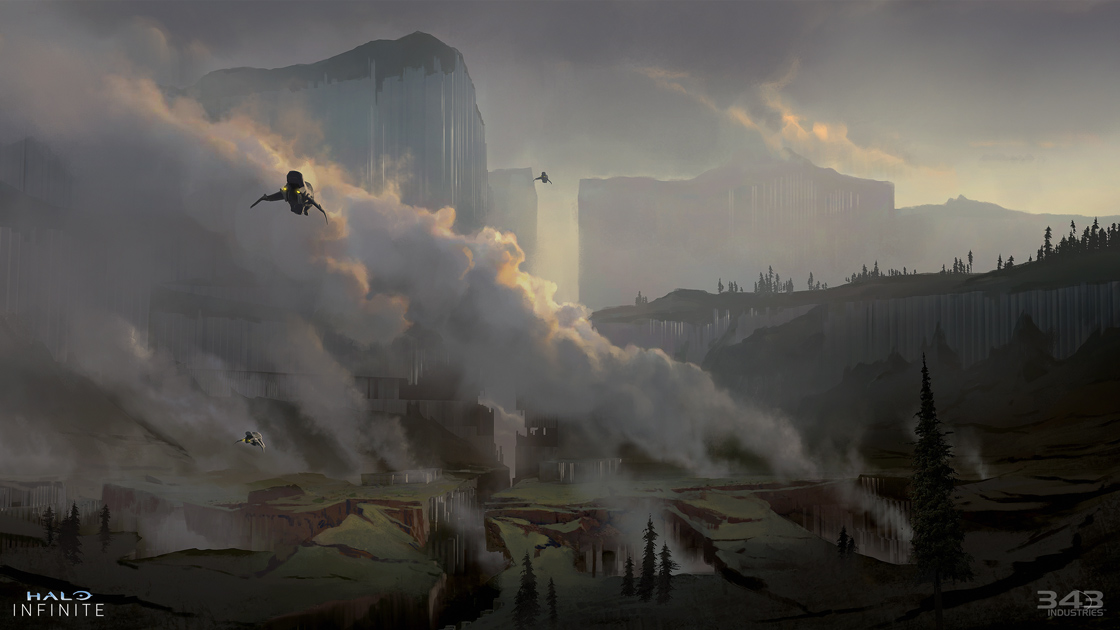 Halo Infinite campaign artwork