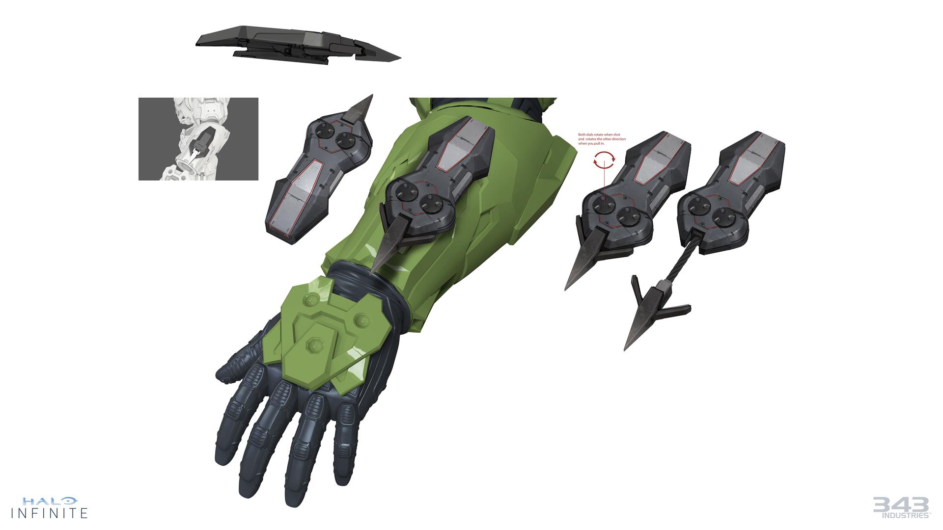 Halo Infinite's Grappleshot
