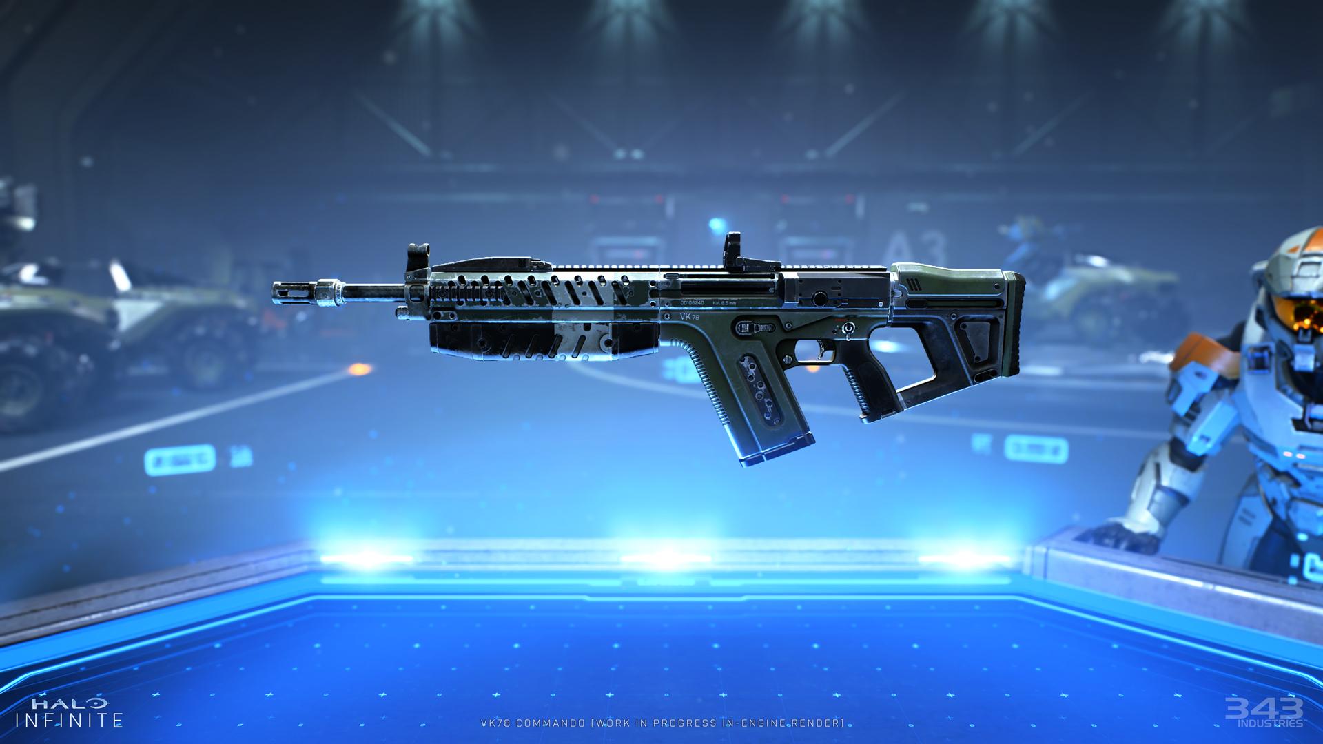 Halo Infinite gun