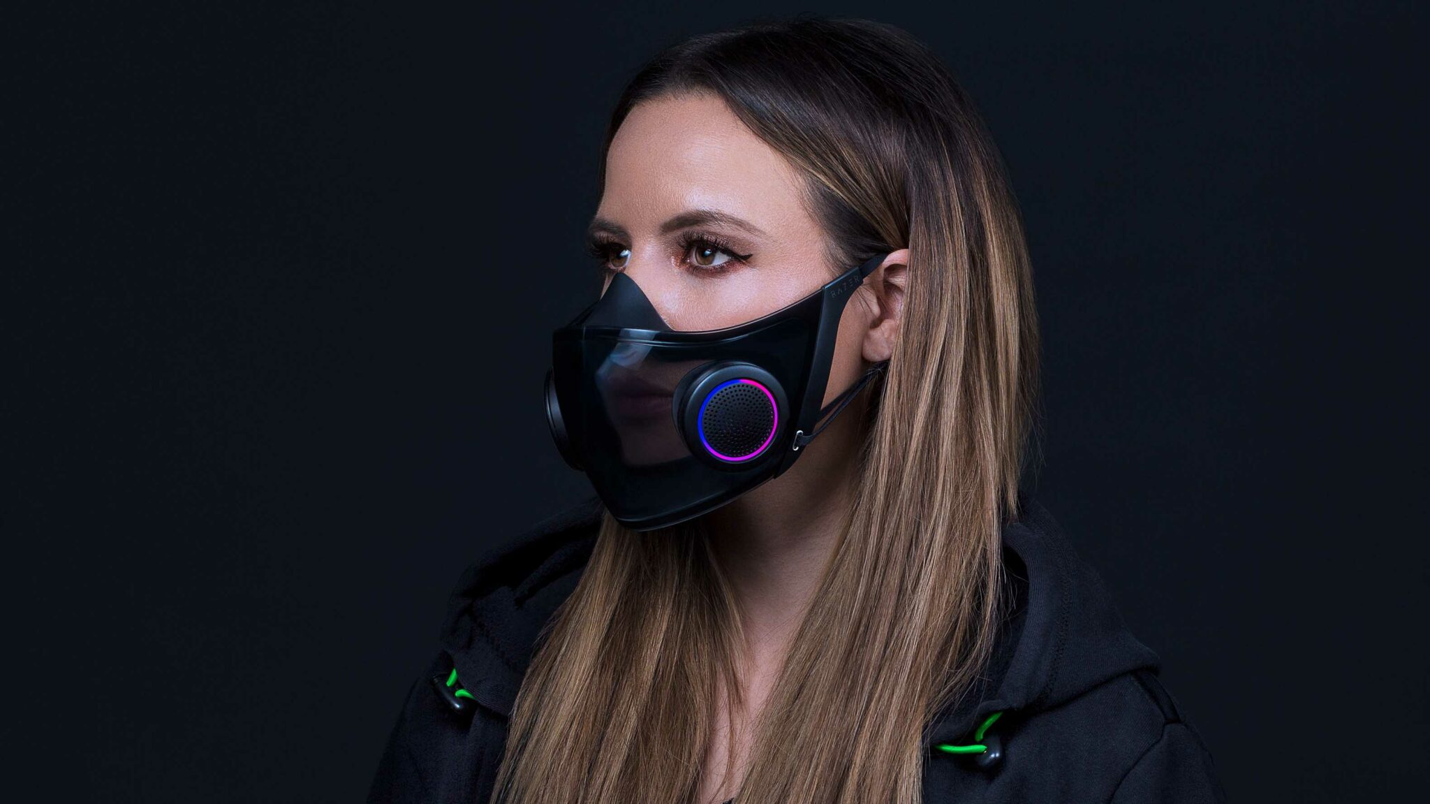 Razer's CES concepts include a mask with RGB lighting and an immersive gaming chair