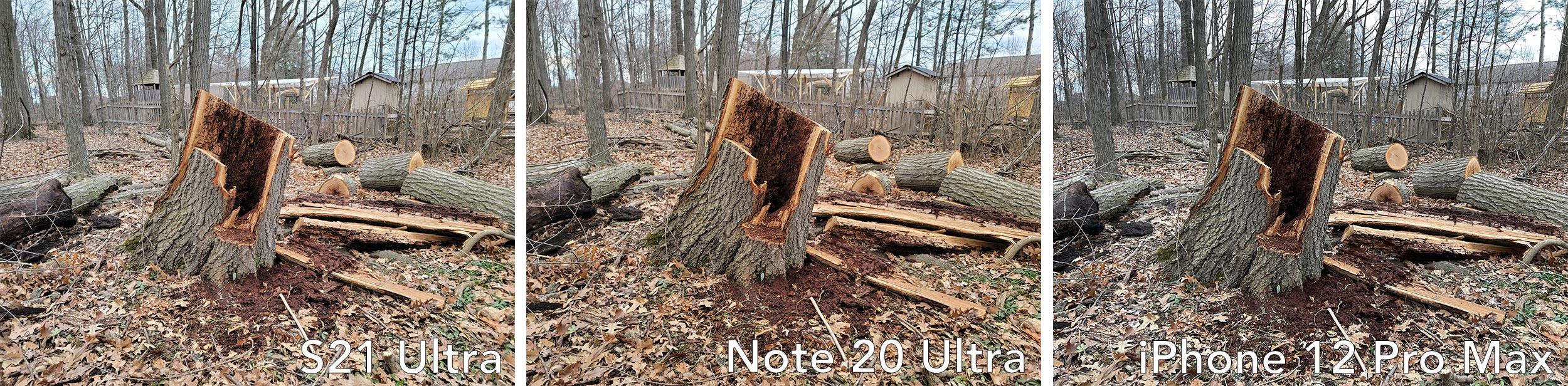 S21 Ultra vs Note 20 Ultra vs iPhone 12 Pro Max camera comparison