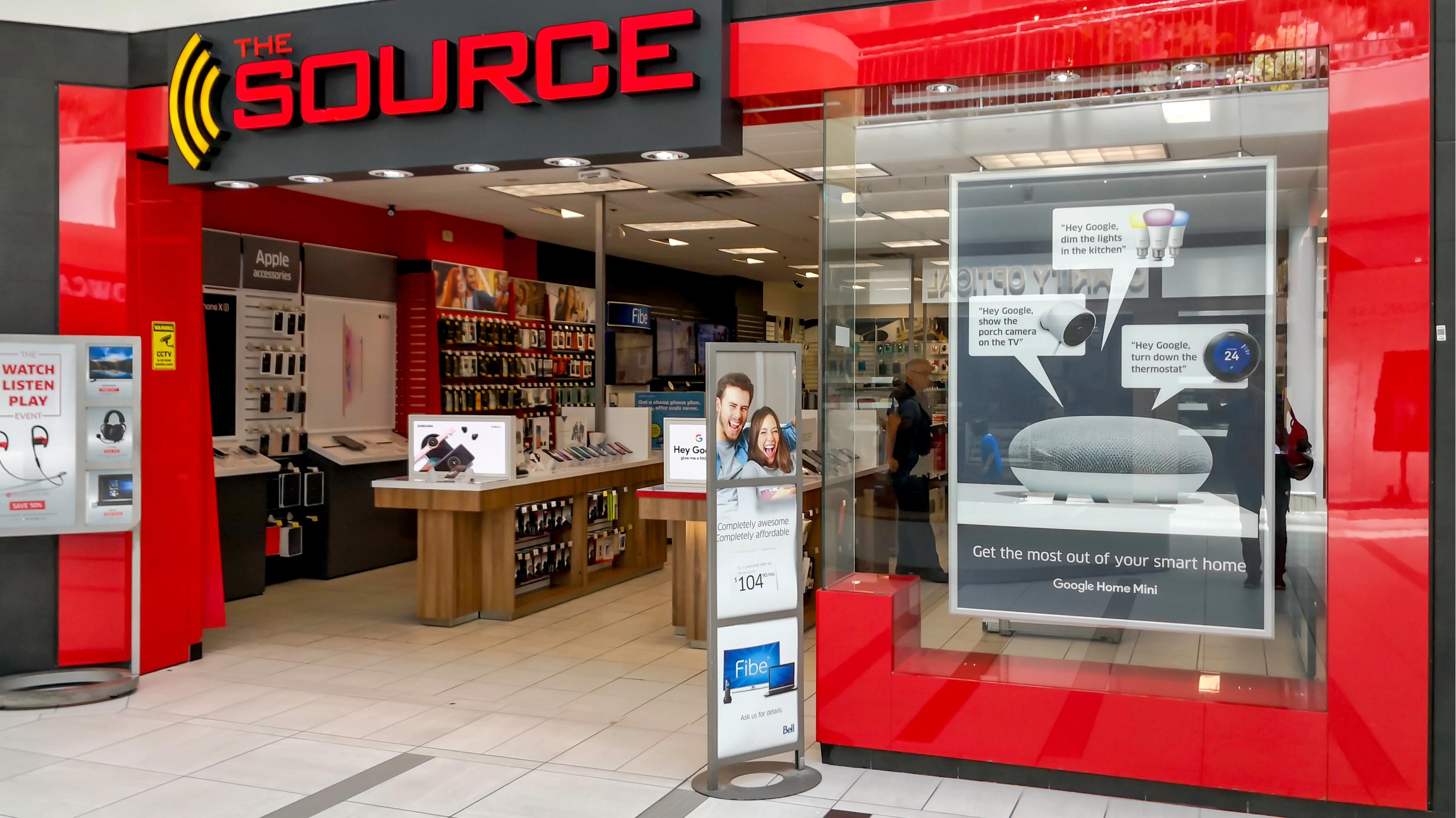 The Source tech retailer