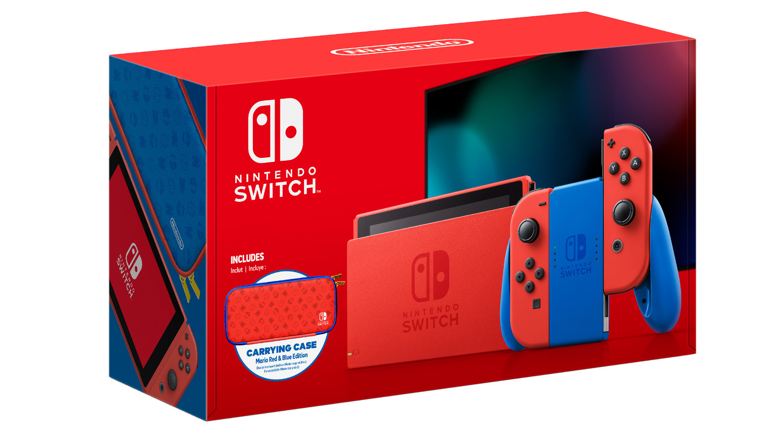 Mario Red & Blue Edition Switch bundle