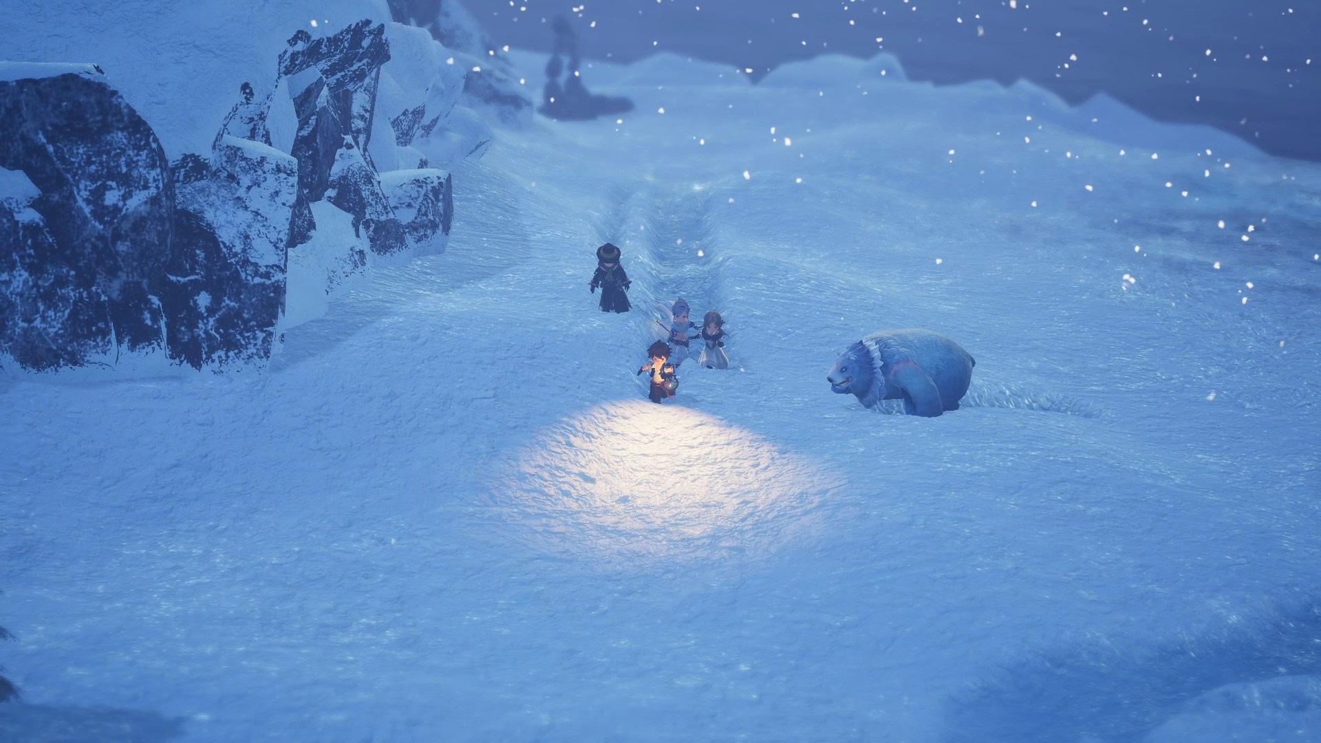Bravely Default 2 screenshot