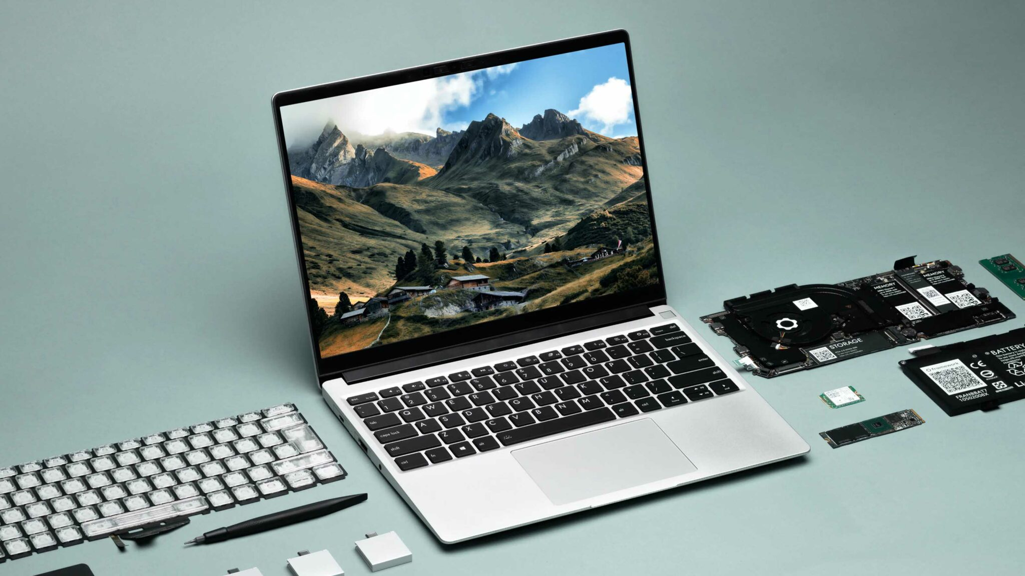 Framework's modular laptop lets you swap the screen, keyboard and ports
