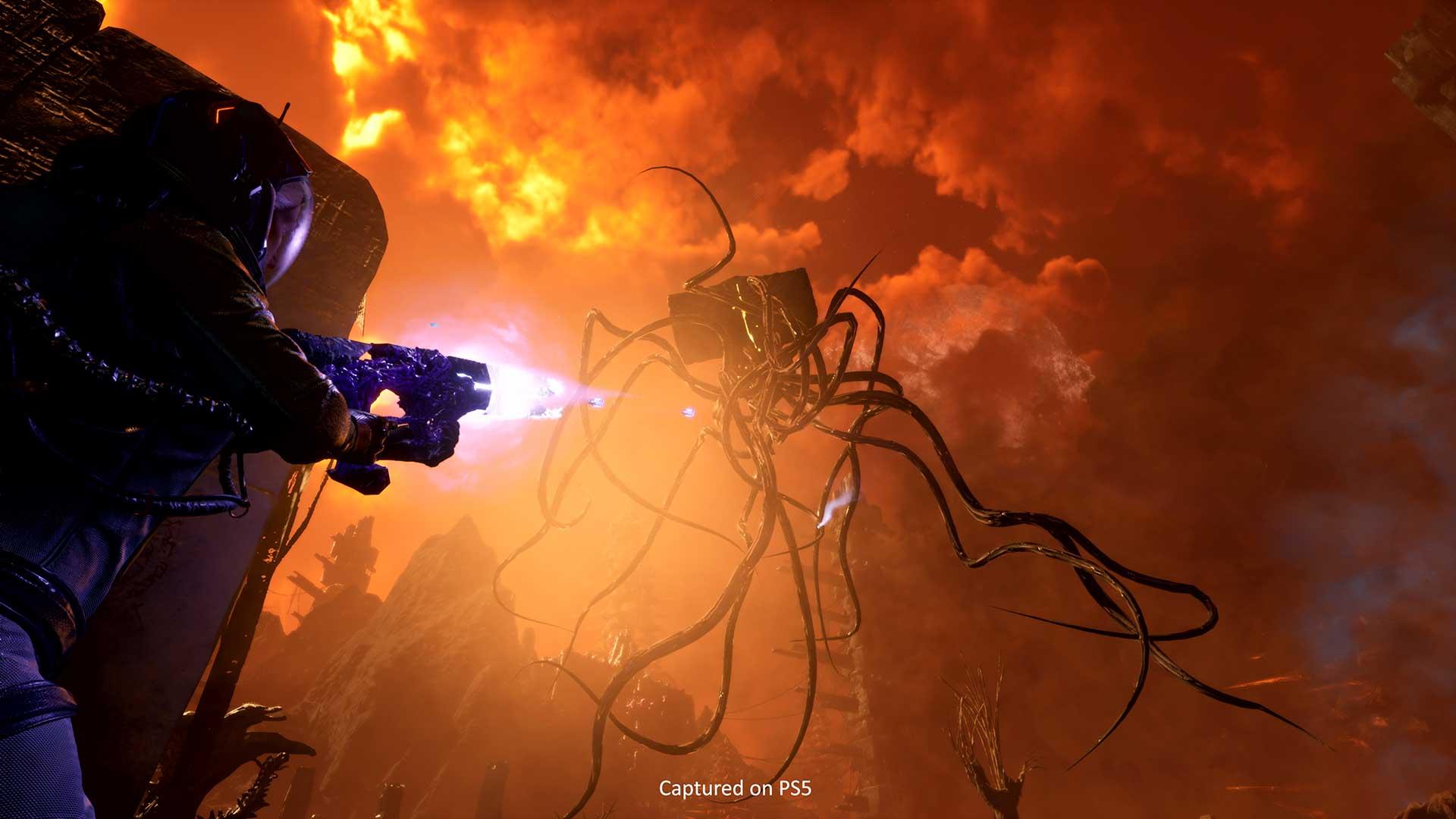 PS5 Returnal alien