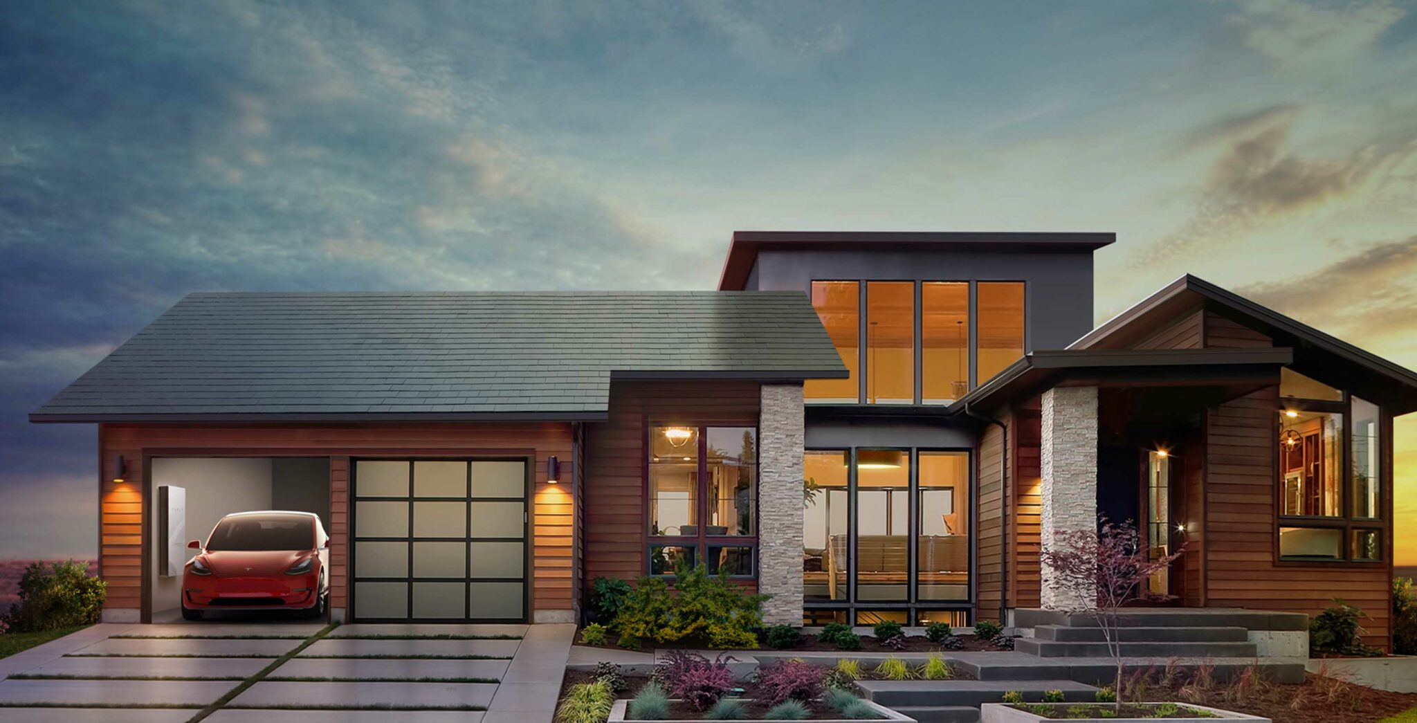 Tesla Solar installations to include a Powerwall by default in the future