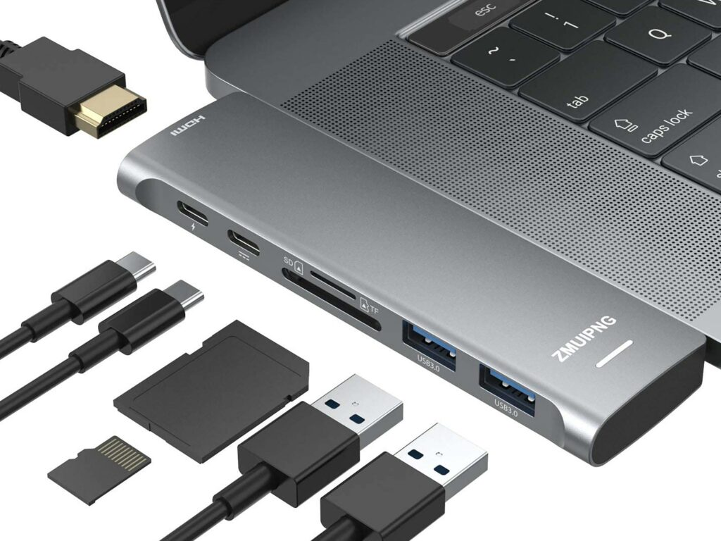 USB-C Hub Macbook Pro Adapter