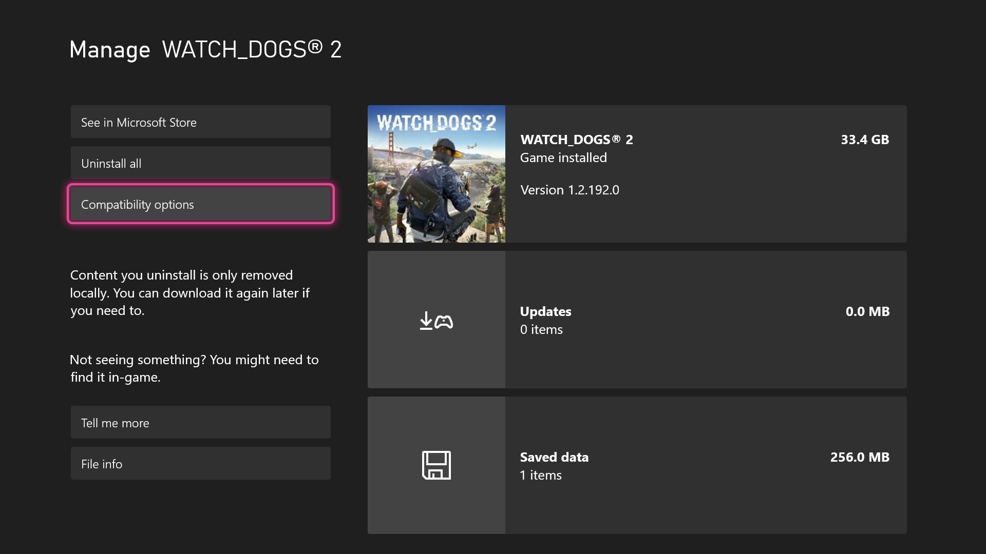 Xbox FPS Boost screenshot