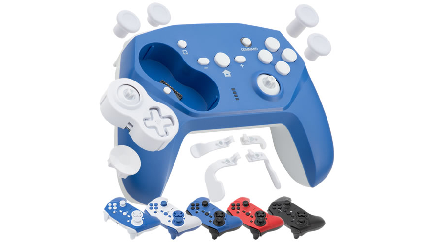 Cyber Gadget's new controller come in multiple colourways
