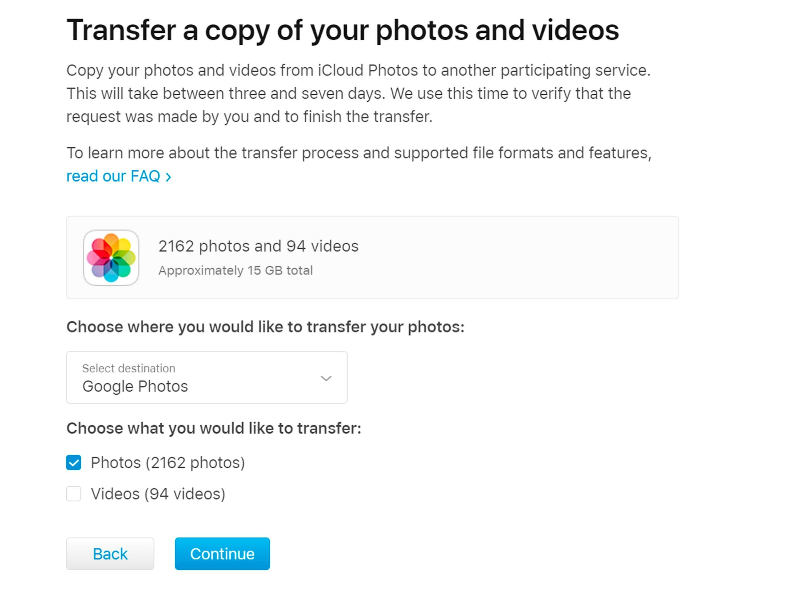How to transfer photos from iPhone to Android and vice versa