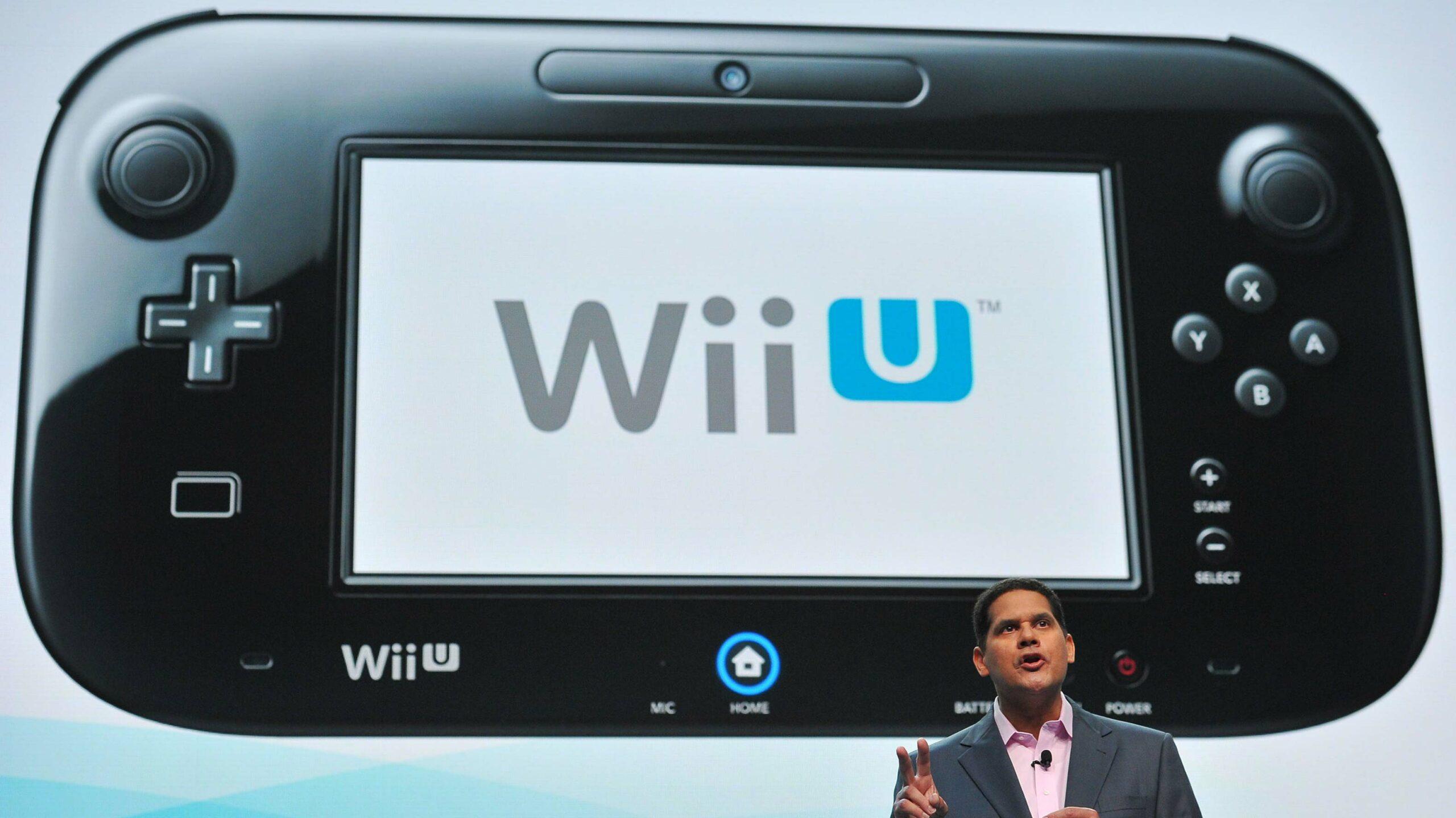 Nintendo Wii U Reggie Fils-Aime