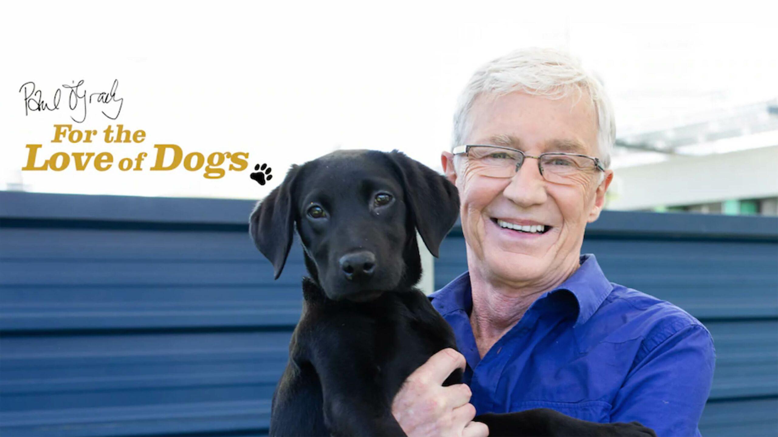 Paul O'Grady dogs