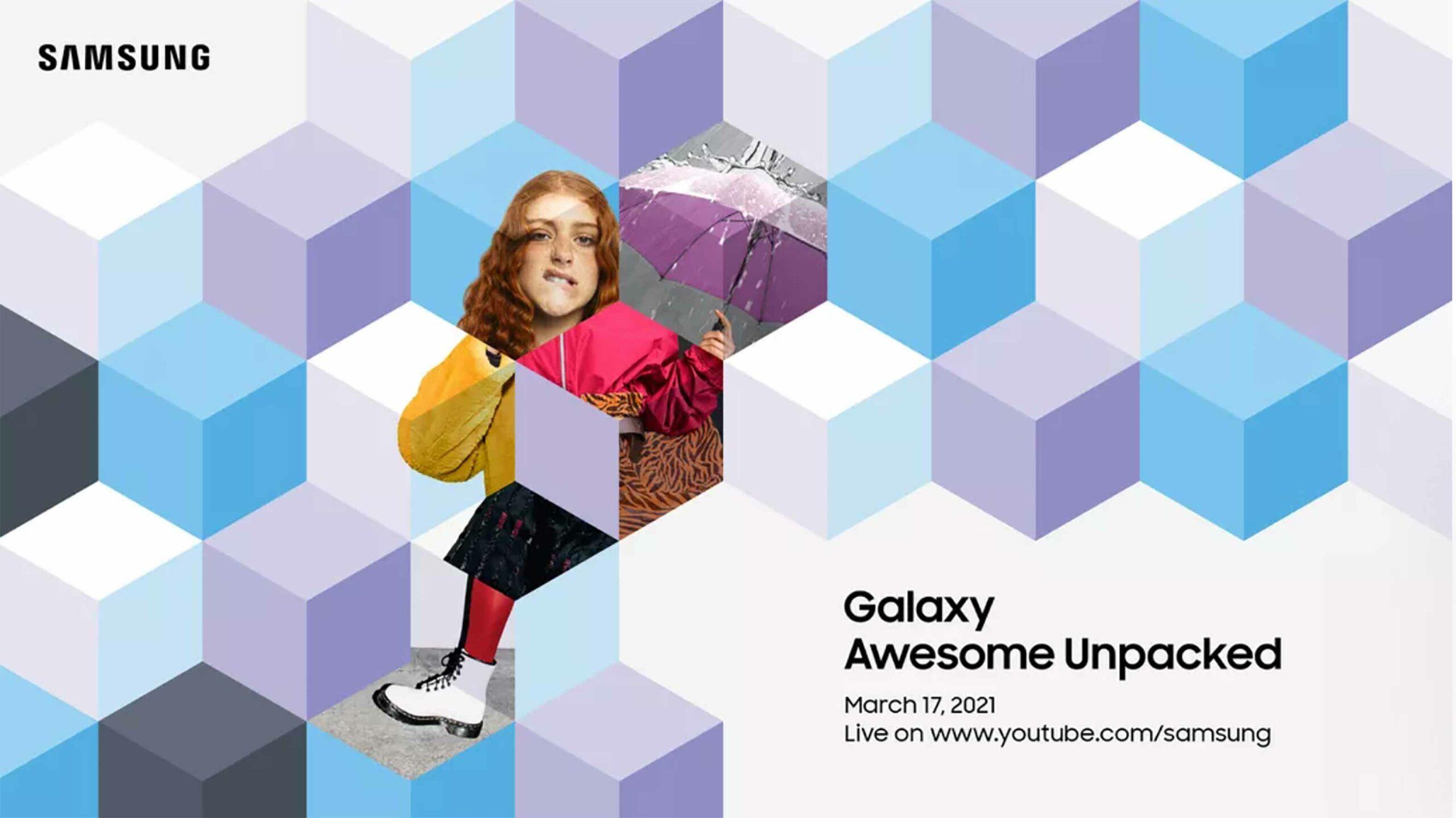 Samsung Unpacked March 2021