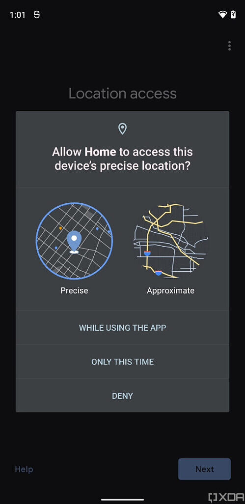 Android-12-Location-Permission-Images