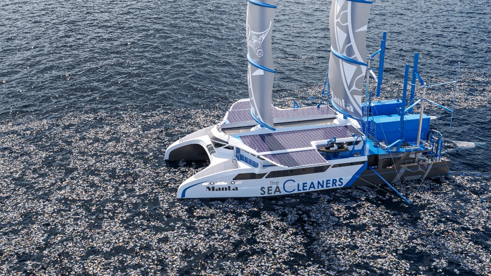 Manta-plastic-eating-sailboat