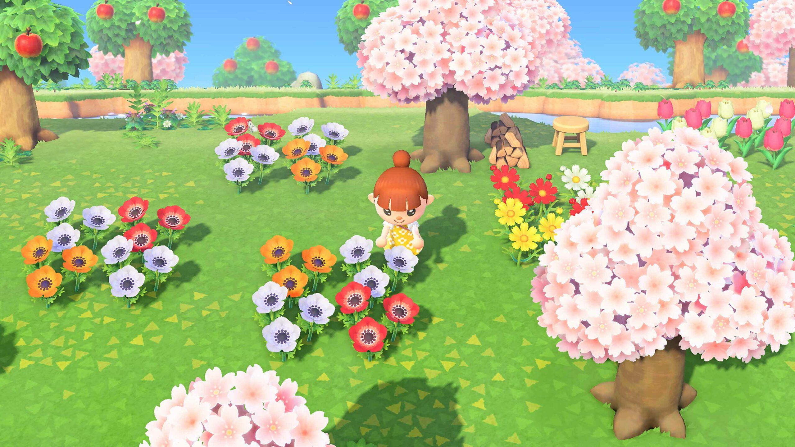 Animal Crossing: New Horizons trees