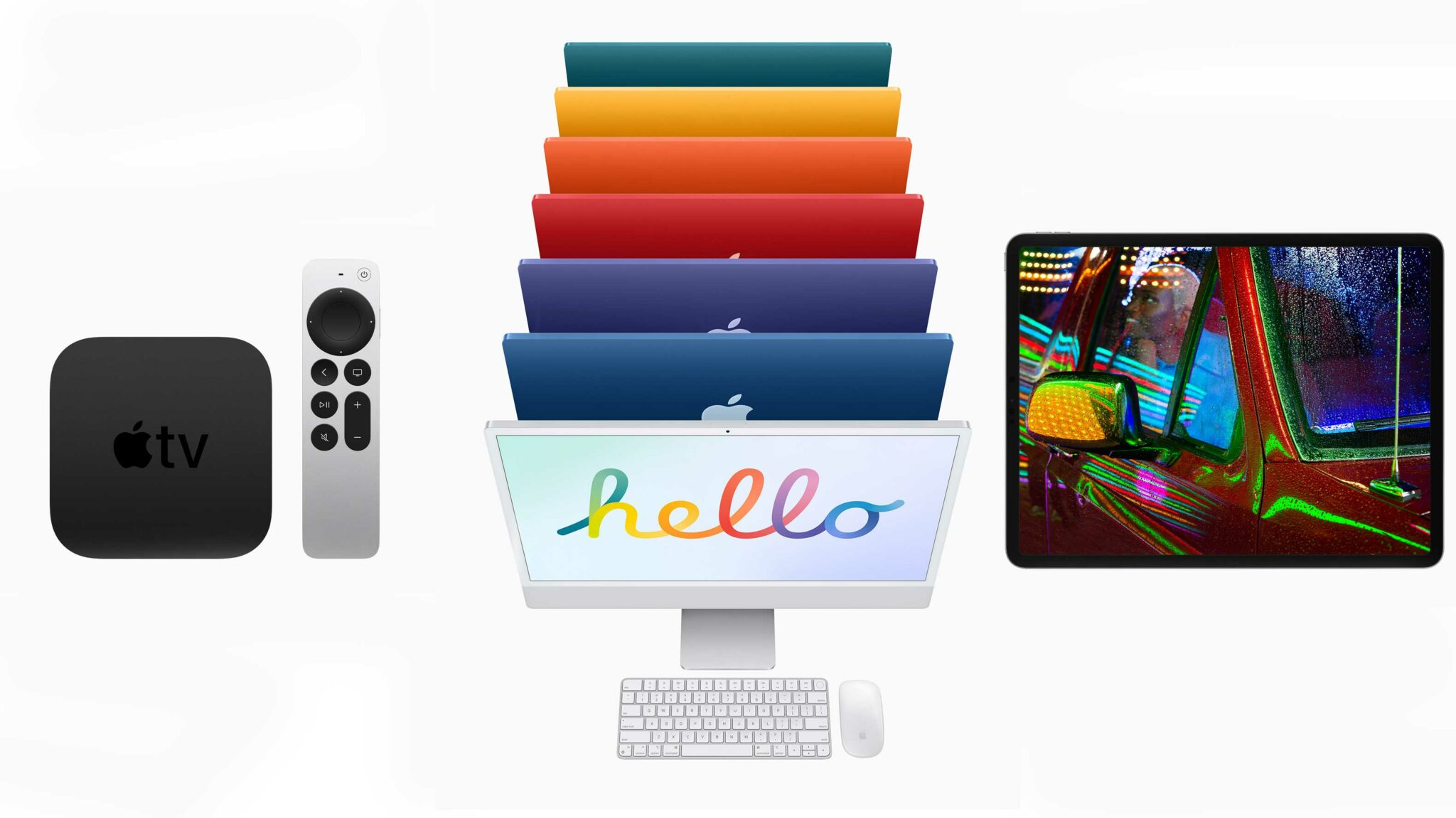 New iMac, Apple TV 4K and iPad Pro are now available to order in Canada