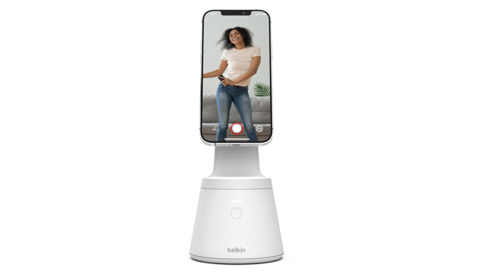 Magnetic Phone Belkin Mount with Face Tracking