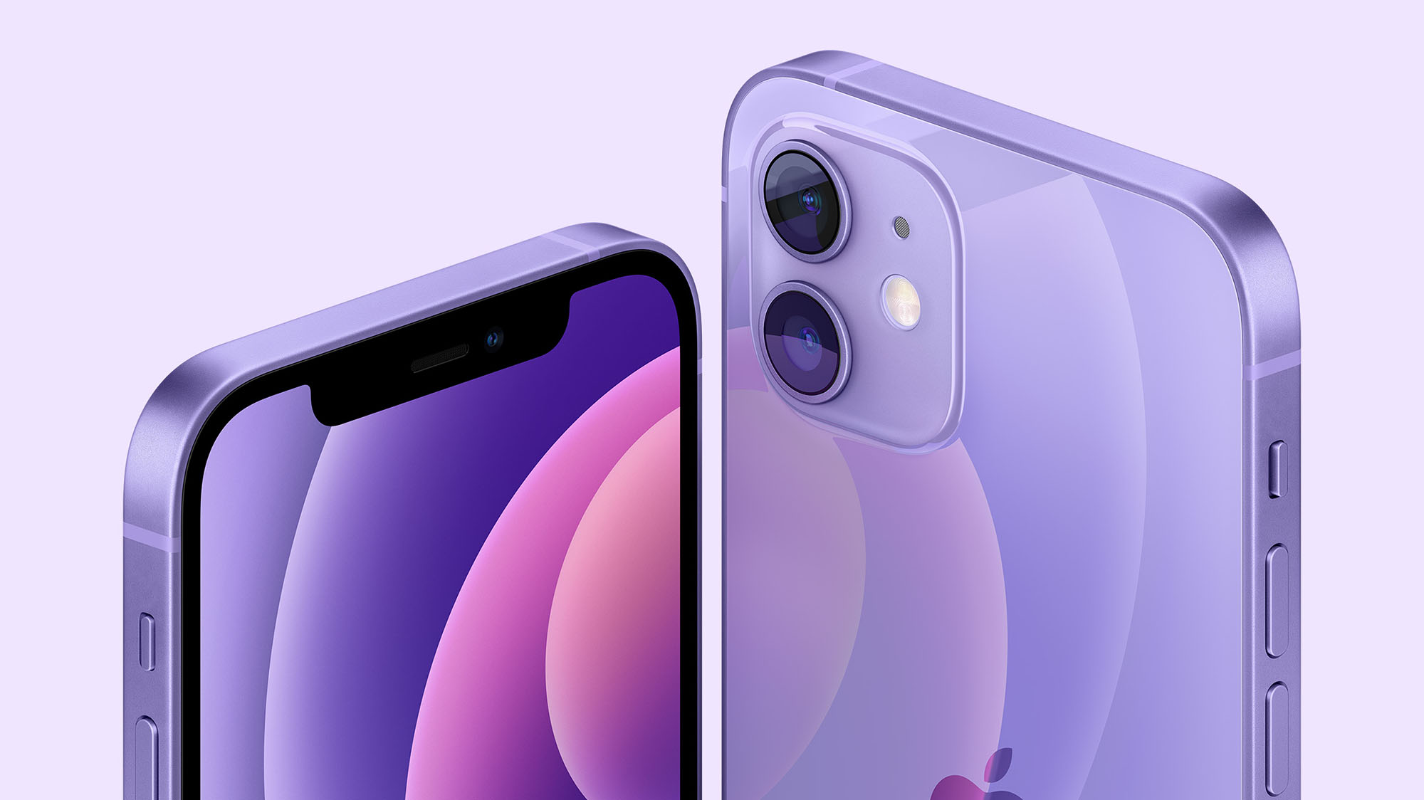 iPhone 12 in Gorgeous Purple