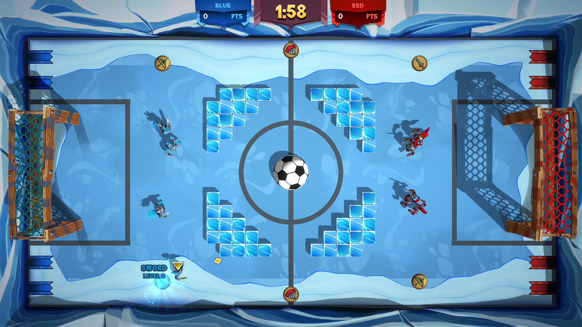 Knight Squad 2 ice soccer
