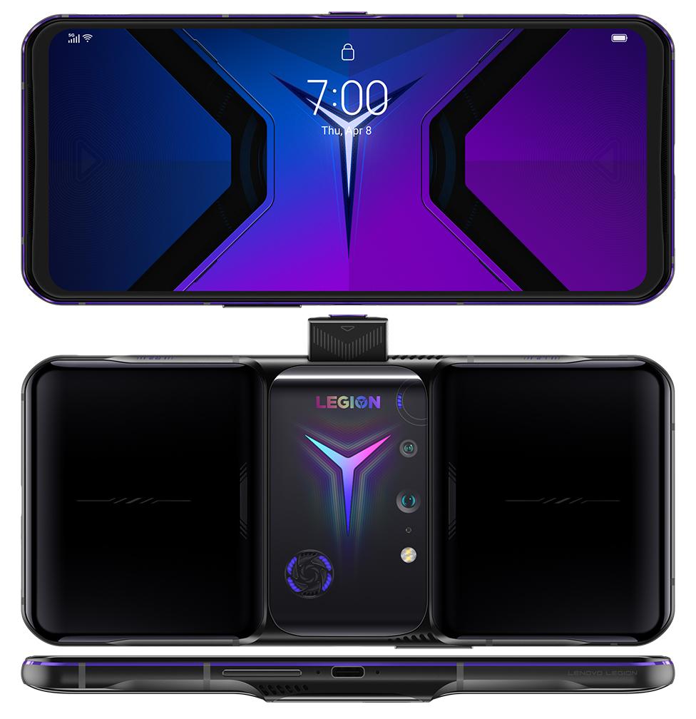 Lenovo Legion Phone Duel 2 in Ultimate Black