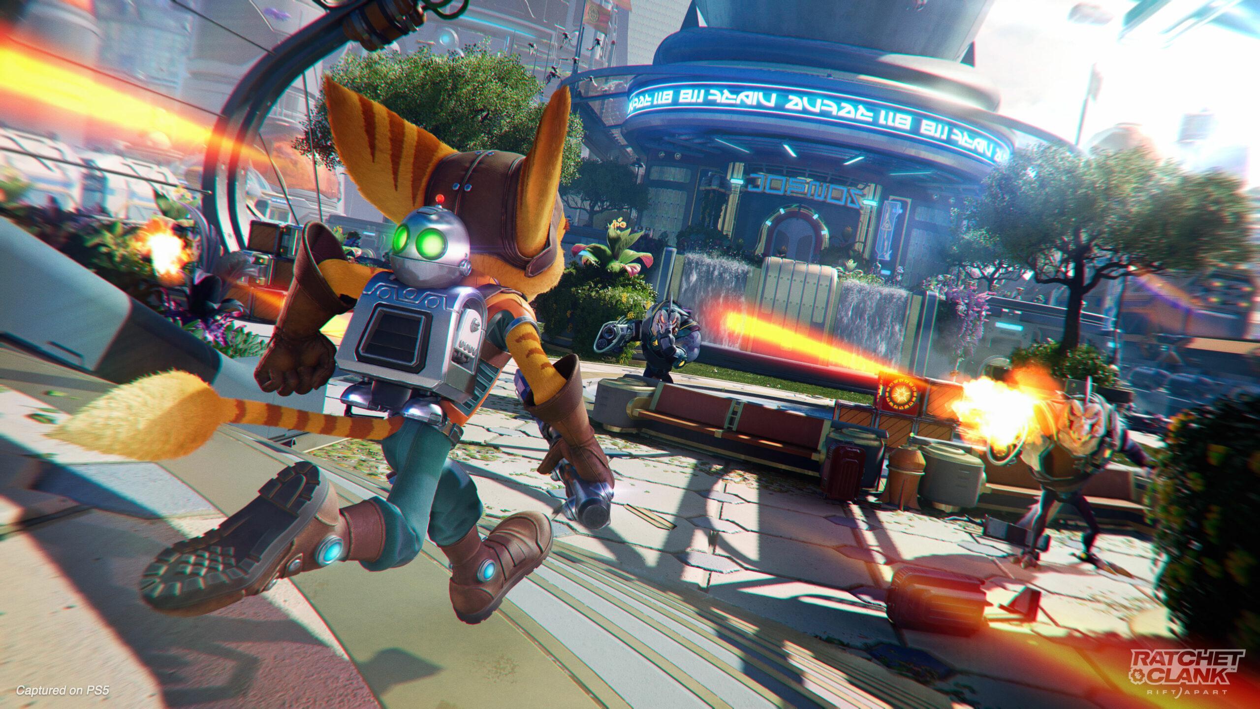 Ratchet & Clank: Rift Apart turret