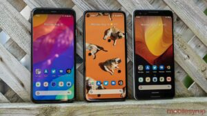 Google Pixel 4, 4a and 3