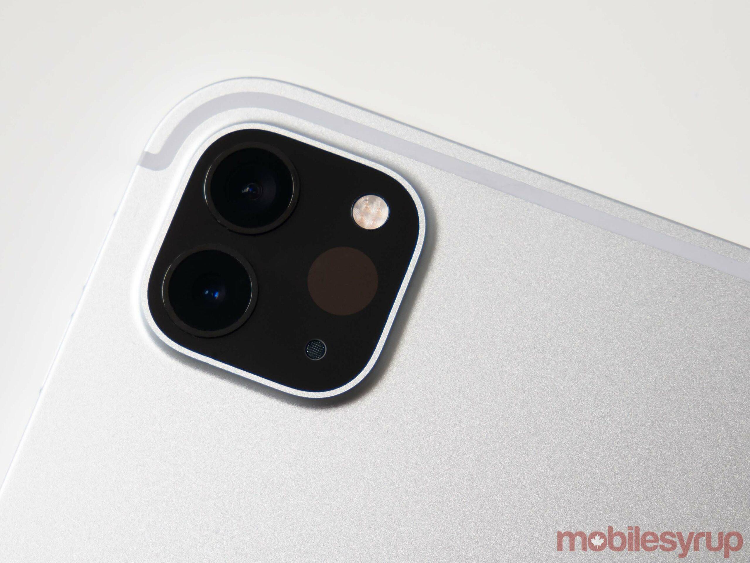 iPad Pro 2021 camera