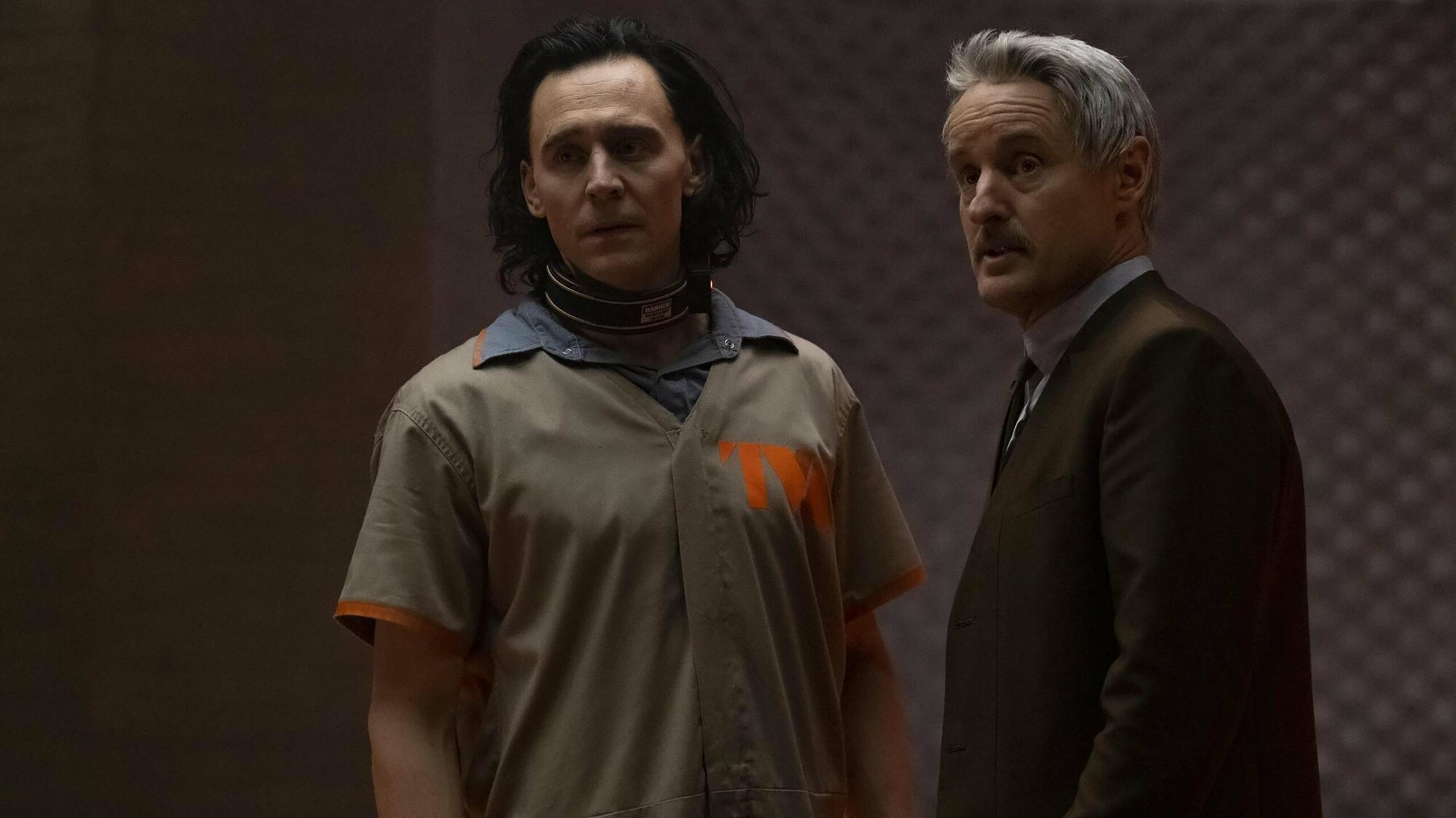 Marvel Studios Loki Tom Hiddleston and Owen Wilson