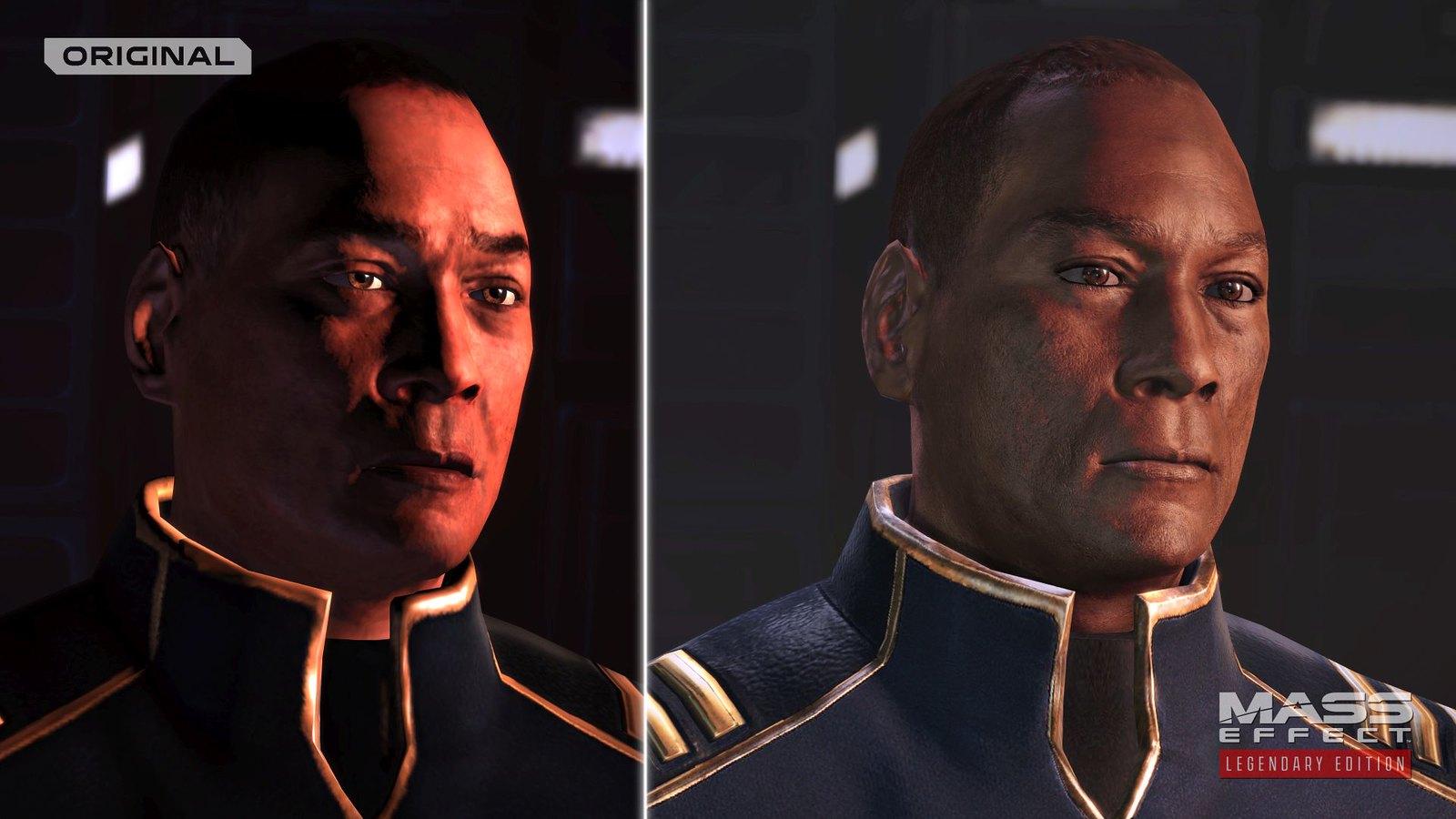 Mass Effect Legendary Edition Anderson
