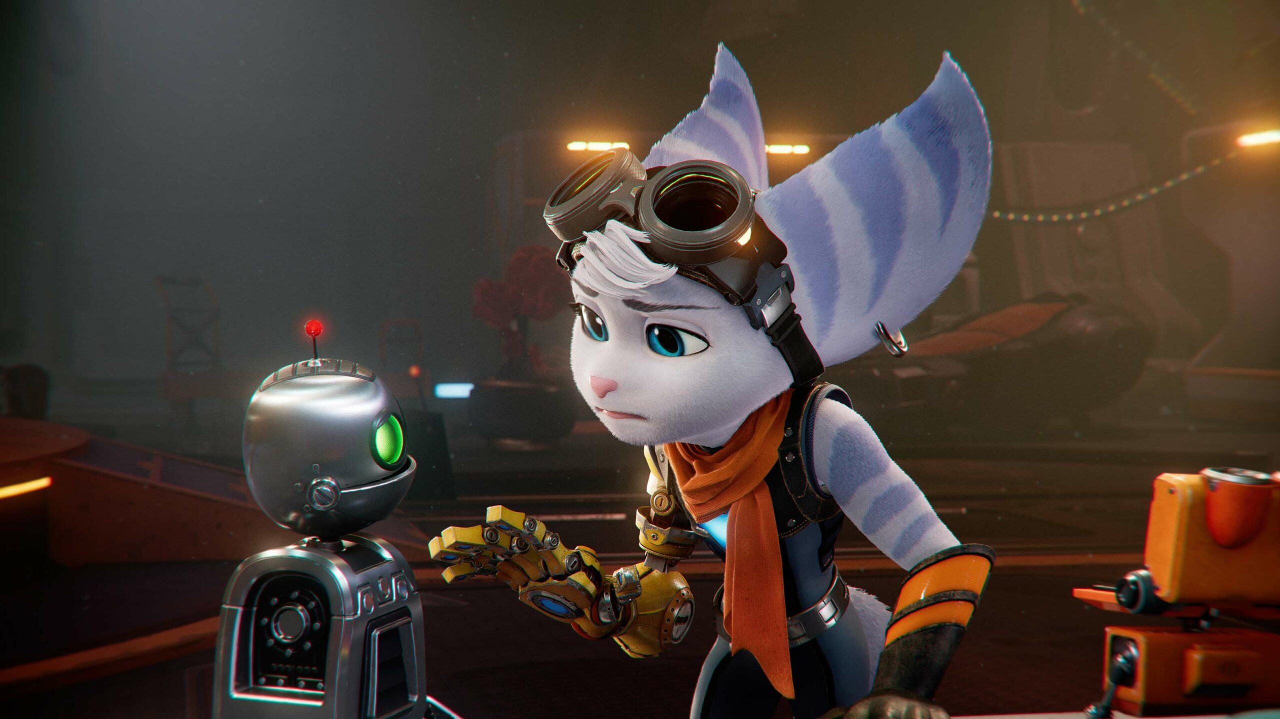 Ratchet and Clank Rift Apart Rivet and Clank