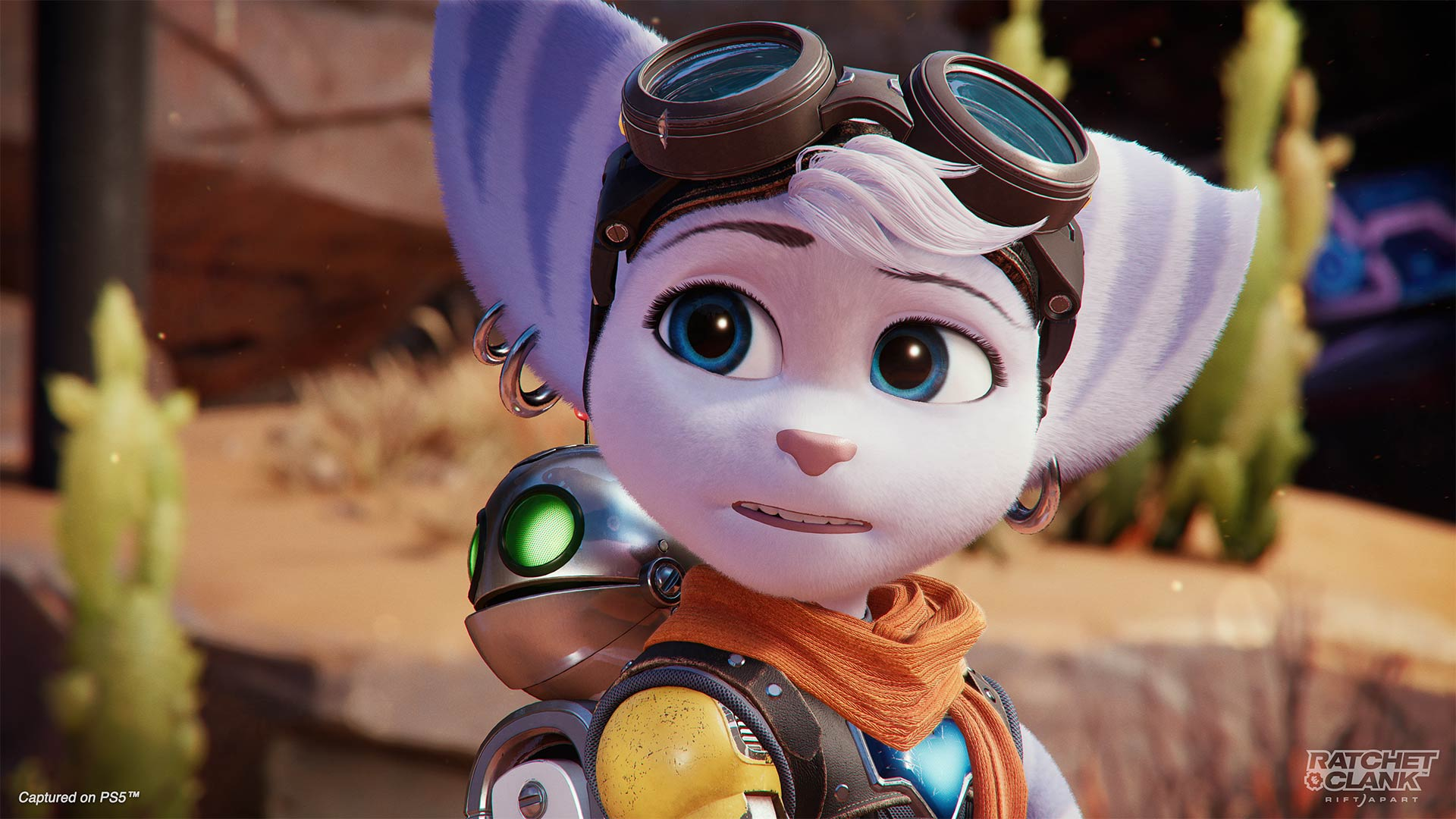Ratchet & Clank Rivet and Clank