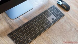 Space Grey Magic Keyboard and Mouse