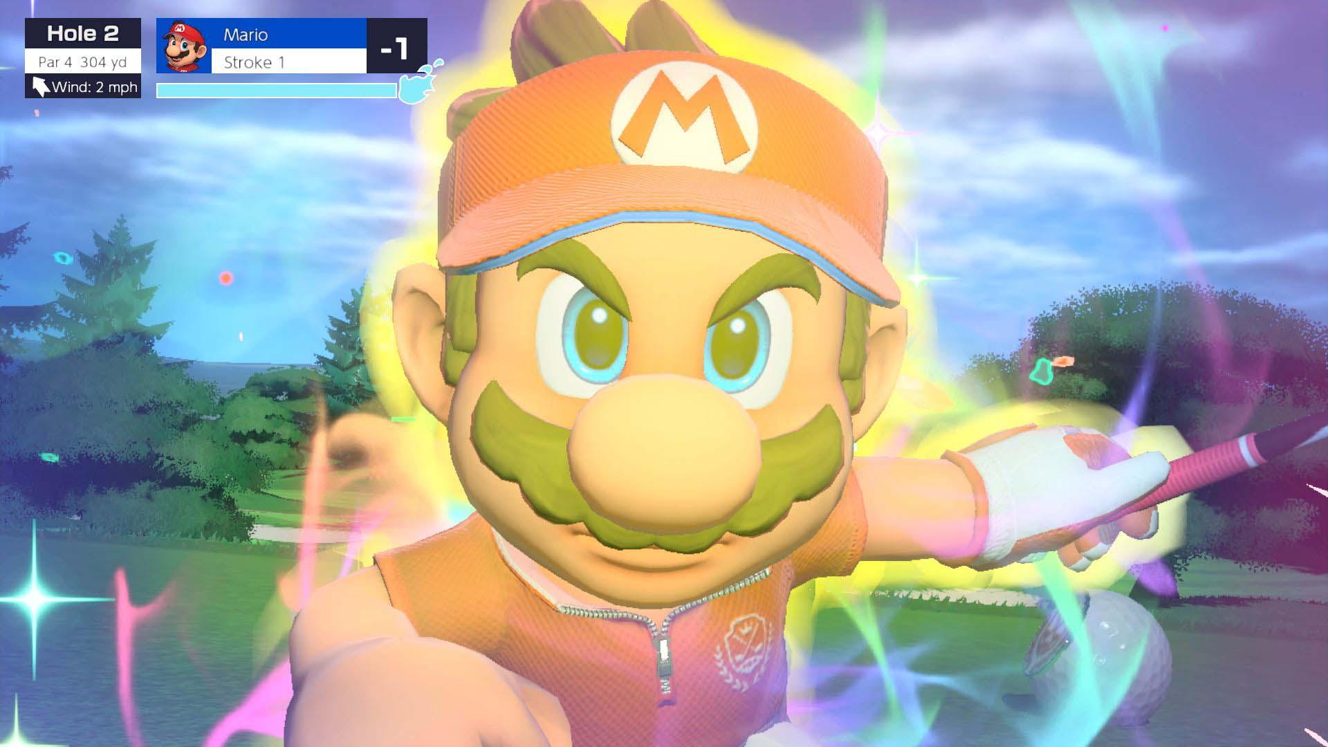 Mario Golf Super Rush Screenshot