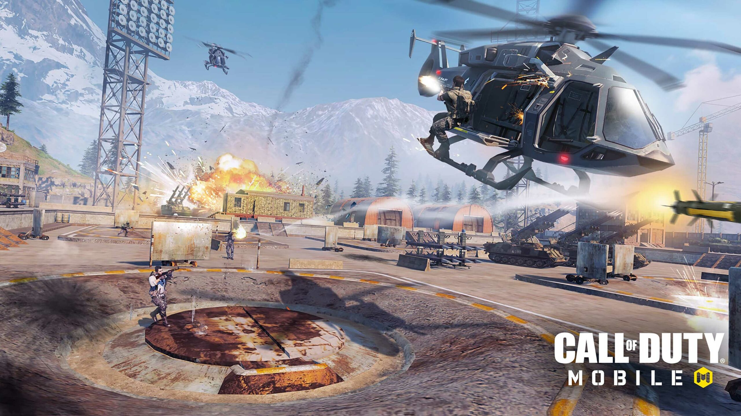 Call of Duty Mobile helicopter