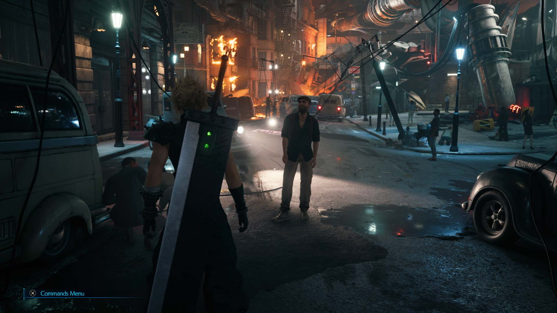 Final Fantasy VII Remake Intergrade city