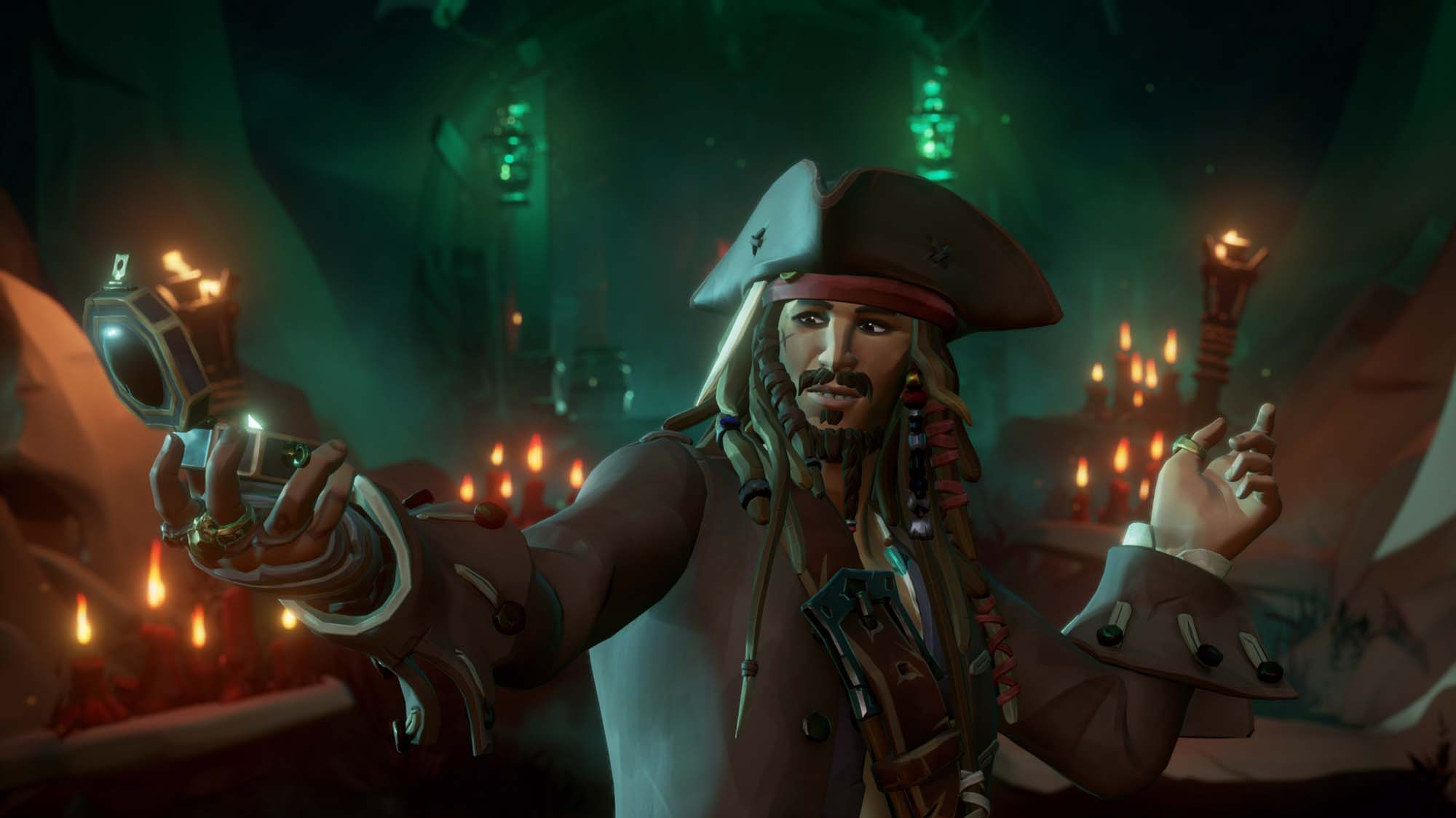 Jack Sparrow in Sea of Thieves