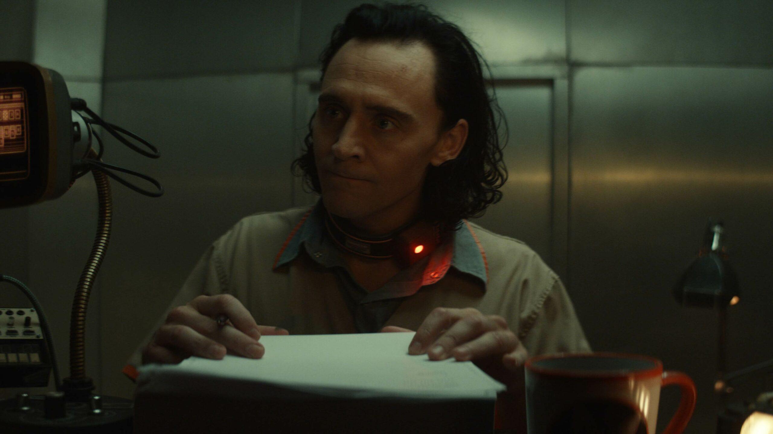 Tom Hiddleston as Marvel's Loki