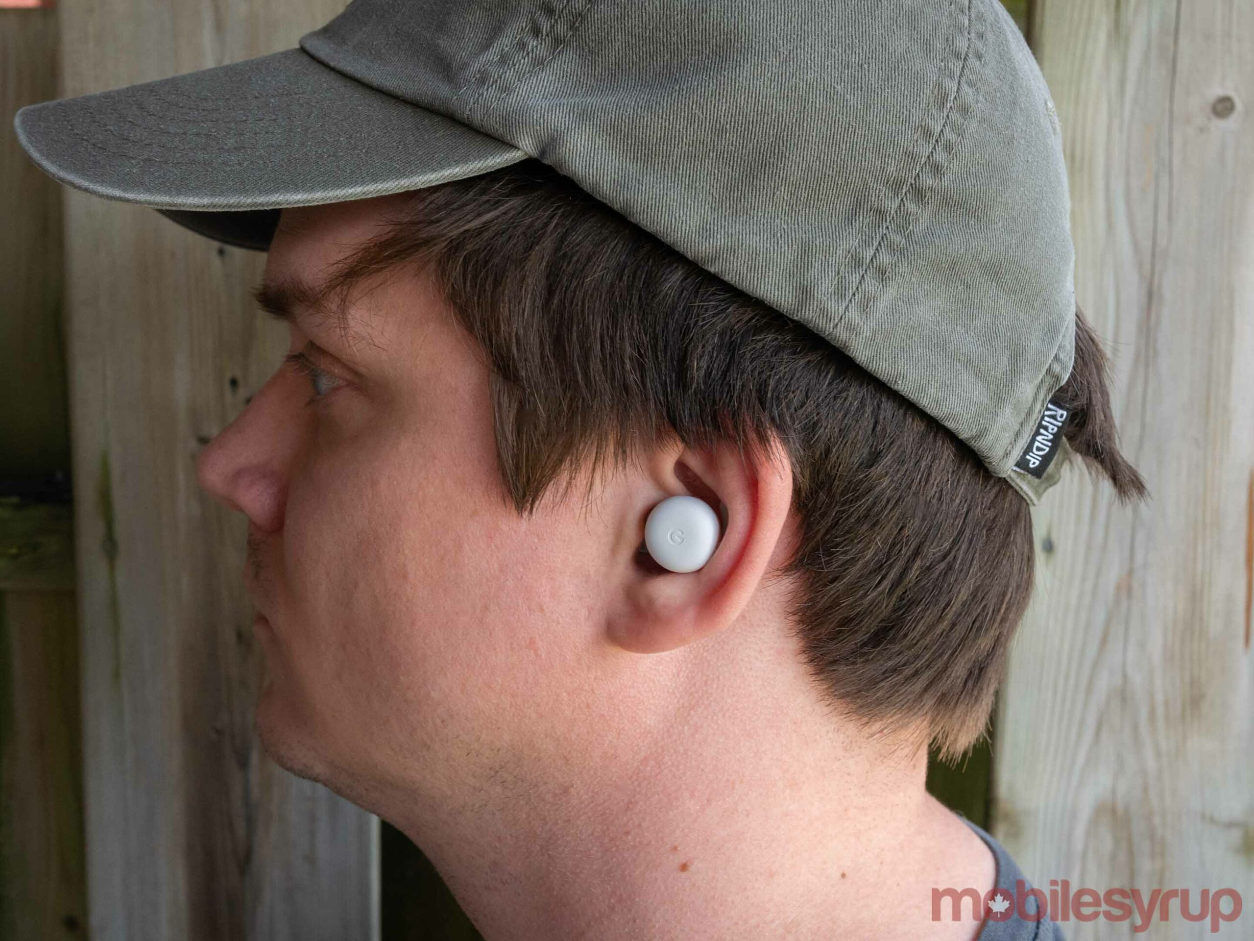 Pixel Buds A in ear