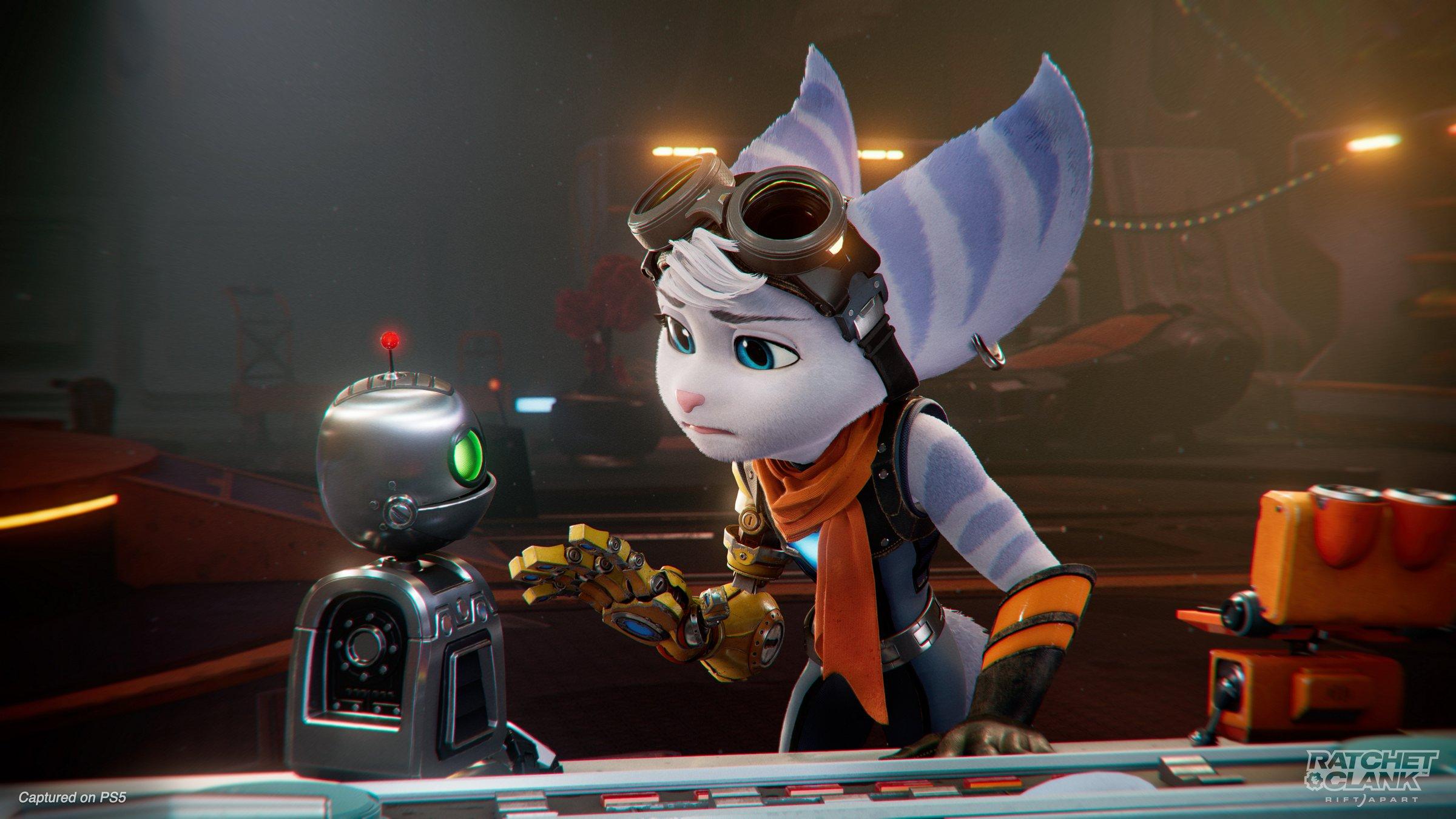 Ratchet & Clank: Rift Apart Rivet and Clank