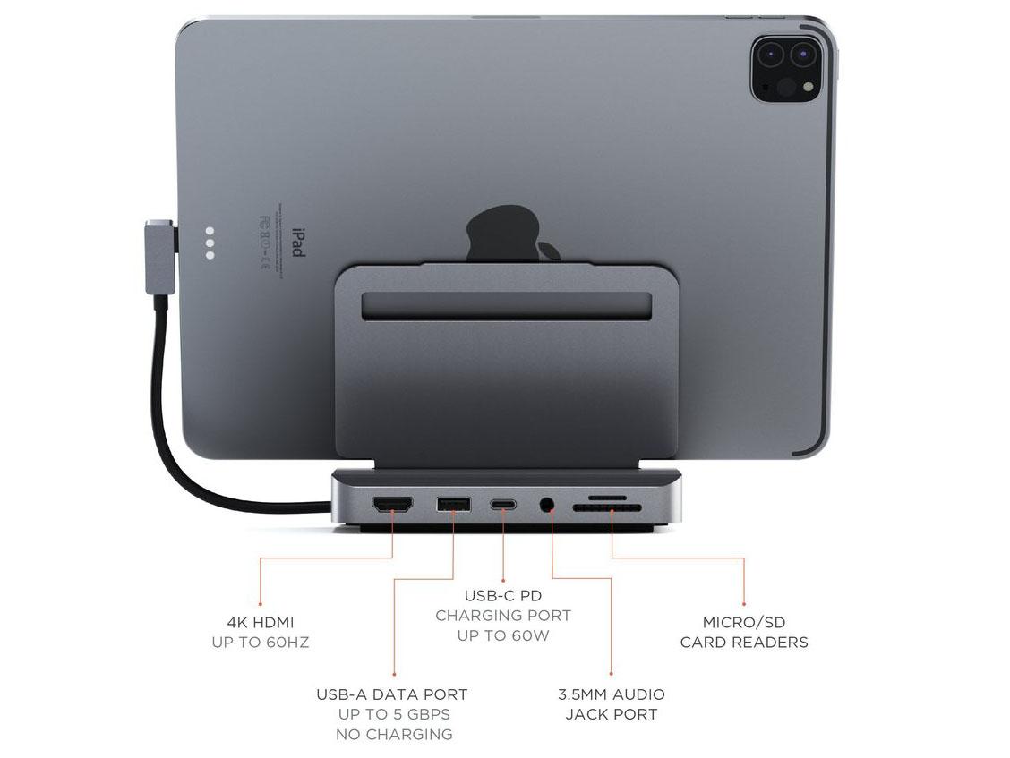 Satechi iPad Pro stand back