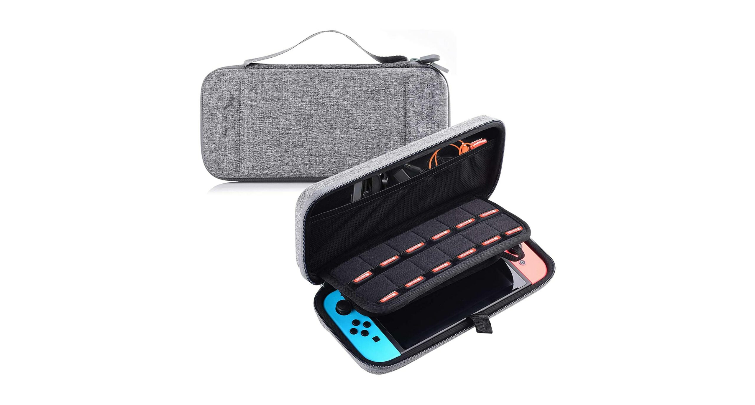 Nintendo Switch Grey Travel Case