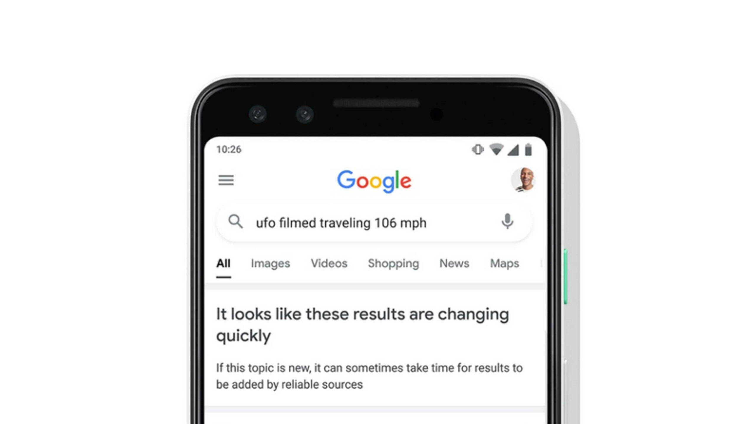 UFO Google Search