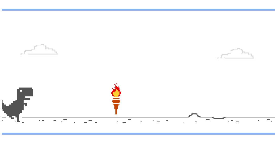Methods to play Google Chrome's Dino sport's Olympic version