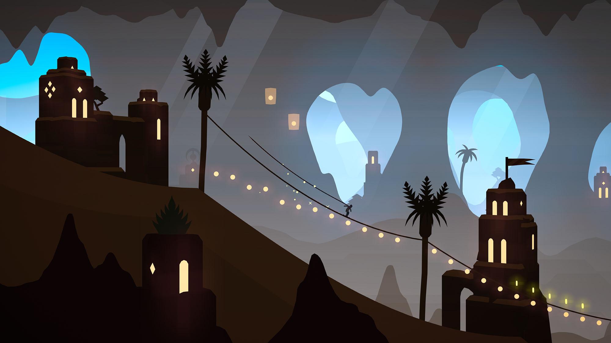Alto's Odyssey The Lost City Screenshot