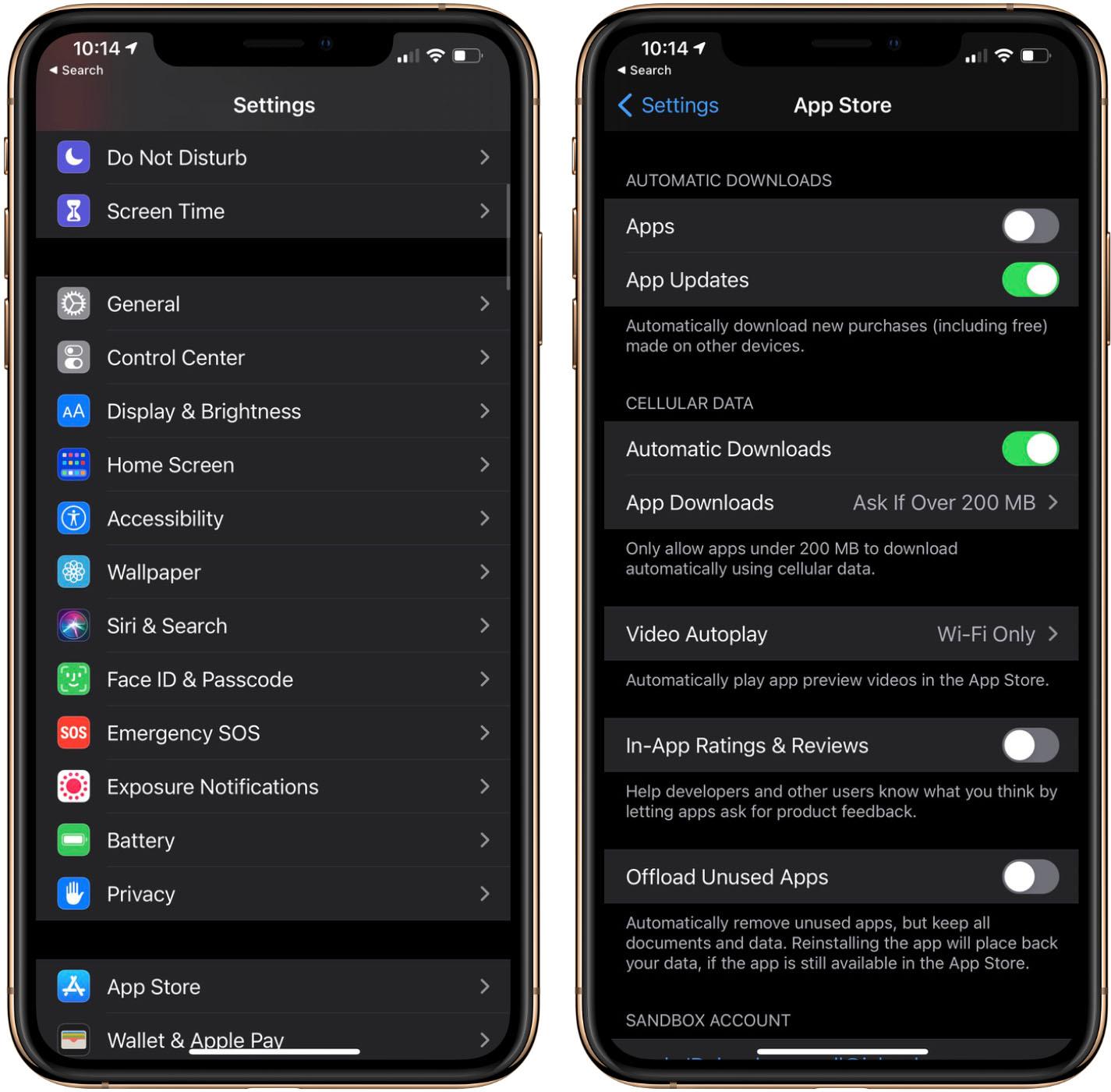 iOS Automatic Updates