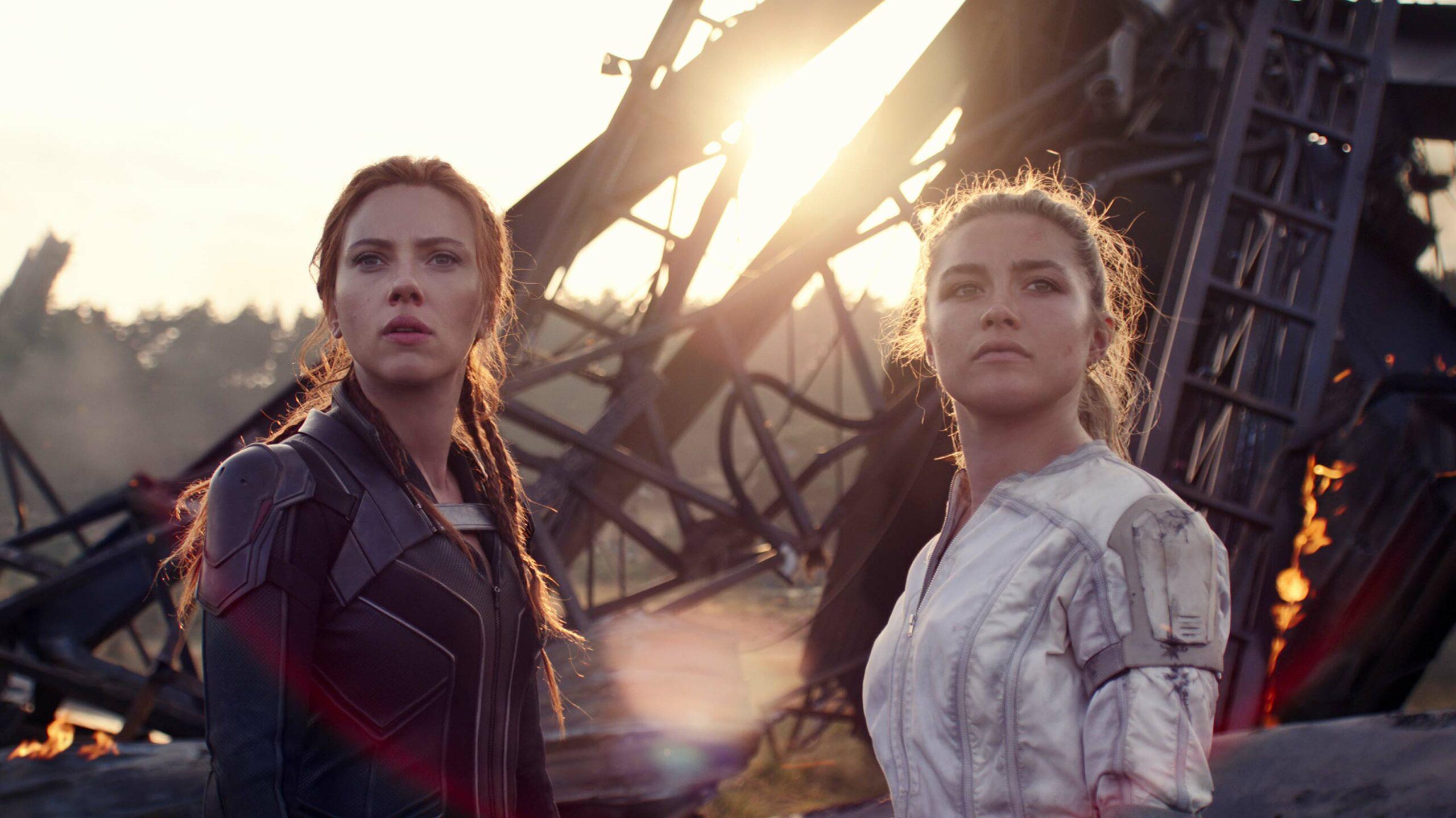 Black Widow Scarlett Johansson Florence Pugh