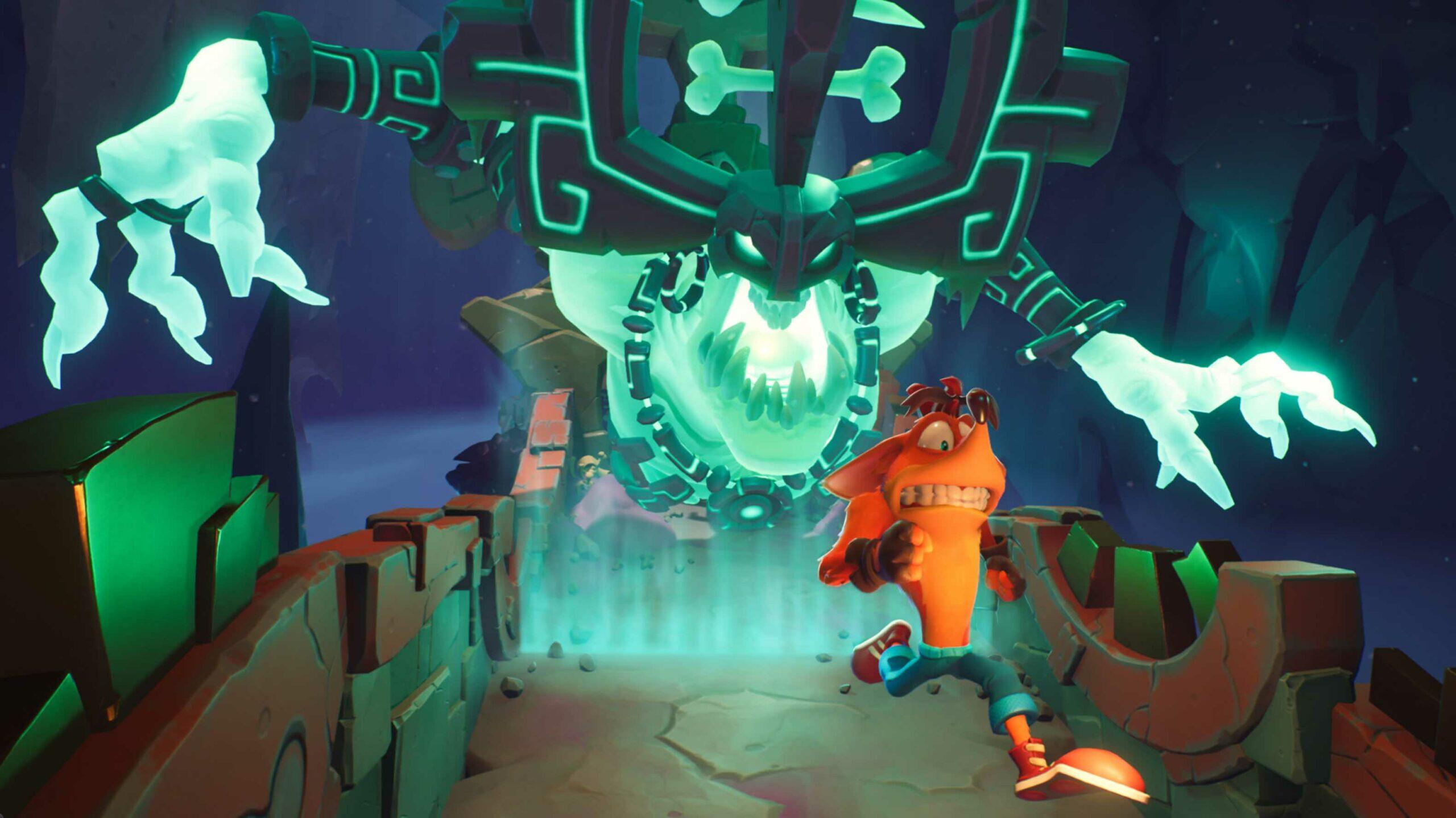 Crash Bandicoot 4 running