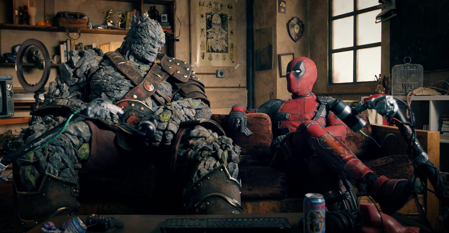 Deadpool and Korg Free Guy